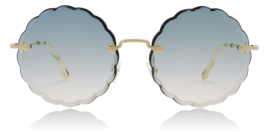 Chloe Rosie CE142S Gold / Blue 816 60mm