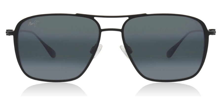 Maui Jim Beaches 541-2M Matte Black 57mm Polarisé
