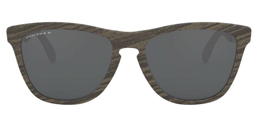 Oakley Frogskins Mix OO9428 Woodgrain 07 55mm Polarisé