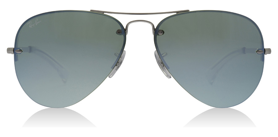 Ray-Ban RB3449 Argenté 904330 59mm