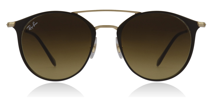 Ray-Ban RB3546 Doré / Marron 900985 49mm