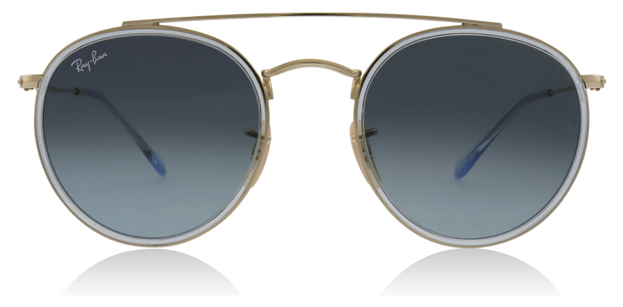 Ray-Ban RB3647N Doré / Gris 91233M 51mm