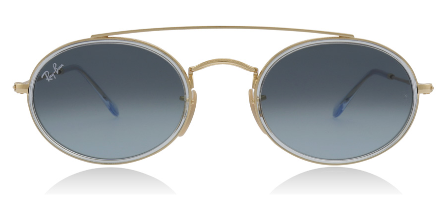 Ray-Ban RB3847N Doré 91233M 52mm
