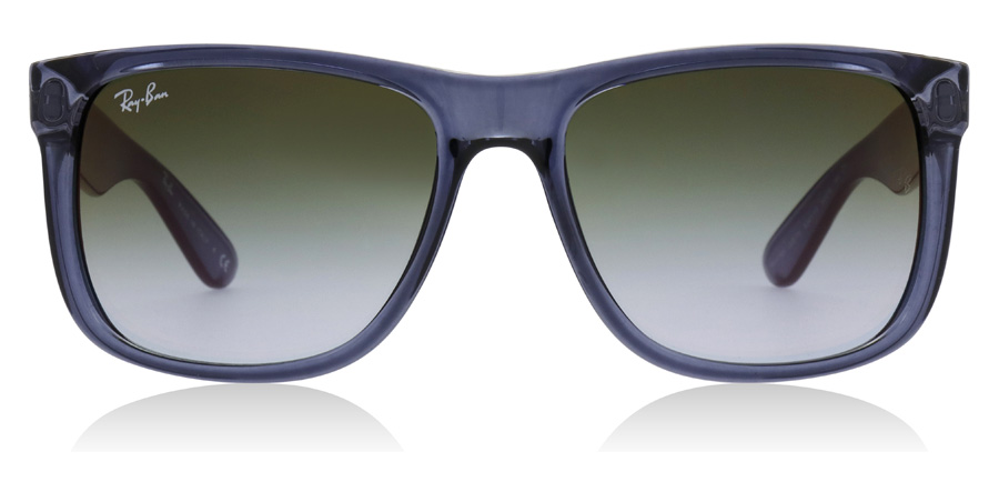 Ray-Ban Justin RB4165 Bleu transparent 6341T0 54mm