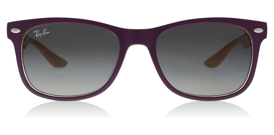 Ray-Ban Junior RJ9052S Age 8-12 Years Violet Mat / Orange 703311 48mm