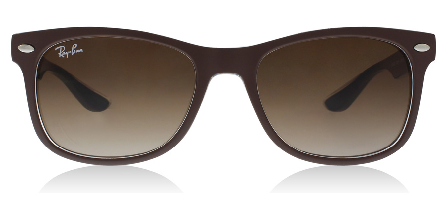 Ray-Ban Junior RJ9052S Age 12-15 Years Marron Mat / Bleu 703513 48mm