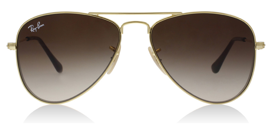 Ray-Ban Junior RJ9506S Age 4-8 Years Doré 223/13 50mm