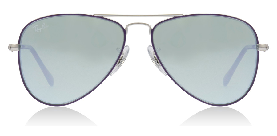 Ray-Ban Junior RJ9506S Age 4-8 Years Argenté / Violet 262/30 50mm