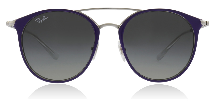 Ray-Ban Junior RJ9545S 7-10 Years Argenté / Pourpre 272/11 47mm
