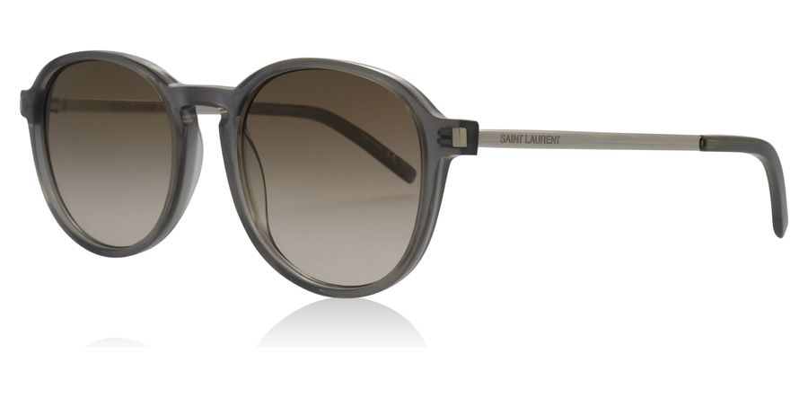 Saint Laurent SL110 Shiny Opale / Grey 004 51mm
