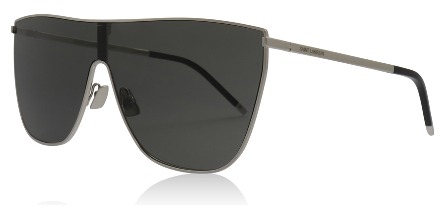 Saint Laurent SL1 Shiny Silver 002 99mm