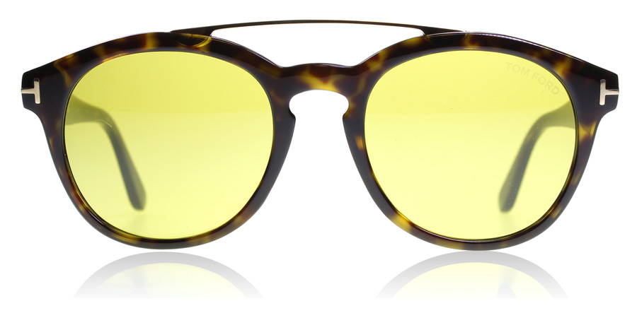 Tom Ford Newman FT0515 Havane Dégradé Brillant 52N 53mm