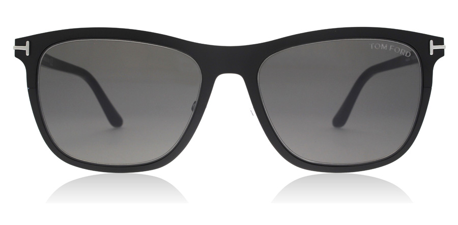 Tom Ford Alasdhair FT0526 Matte Black 02A 55mm