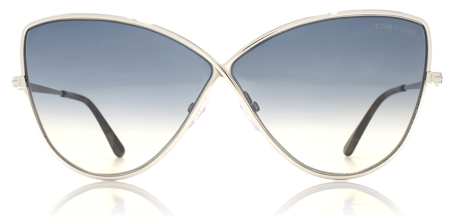 Tom Ford FT0569 Elisa Shiny Palladium 16W 65mm