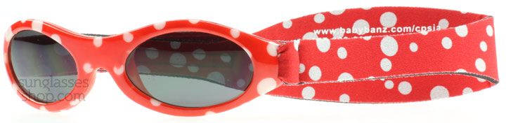 Baby Banz Adventure 0-2 Years Rouge à Pois 45mm