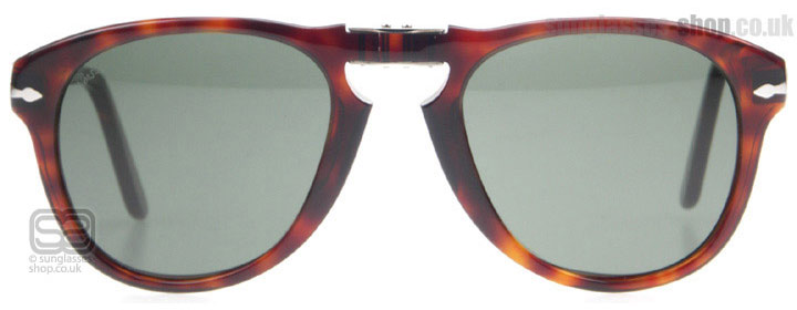 Persol PO0714 PO0714SM Ecaille de tortue / Rouge 24/31 52mm