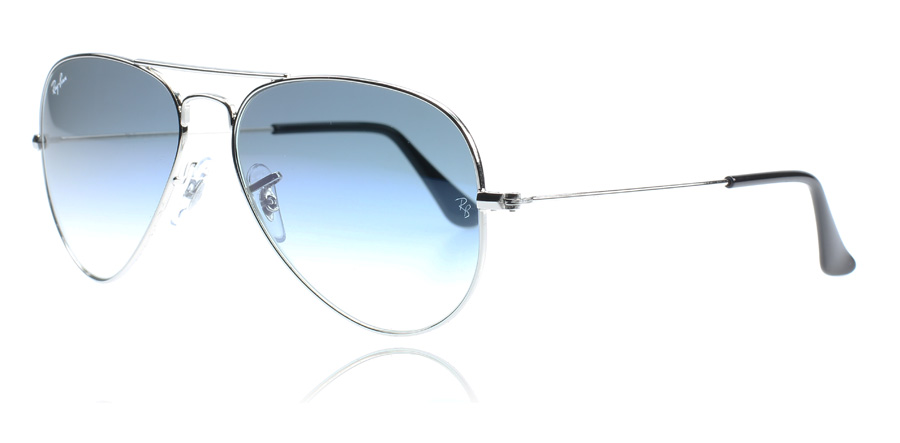 Ray Ban Aviator Argent