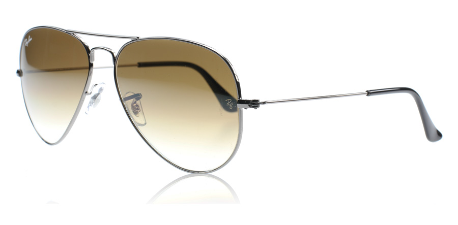 Ray Ban Aviator Marron Dégradé
