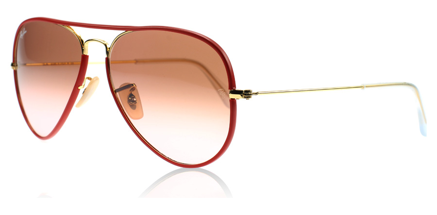 Ray ban aviator rouge et blanc for Ray ban aviator miroir