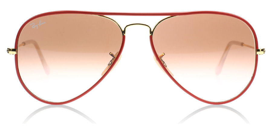 lunette ray ban aviator rouge