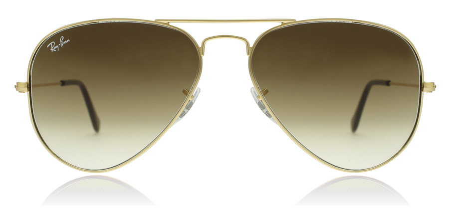 Ray-Ban RB3025 Doré 001/51 58mm