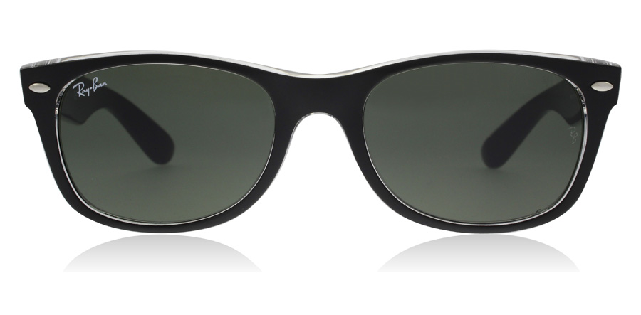 Ray-Ban RB2132 New Wayfarer Noir Cristal 6052 52mm