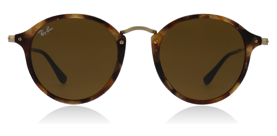 Ray-Ban RB2447 Havane marron à pois 1160 52mm