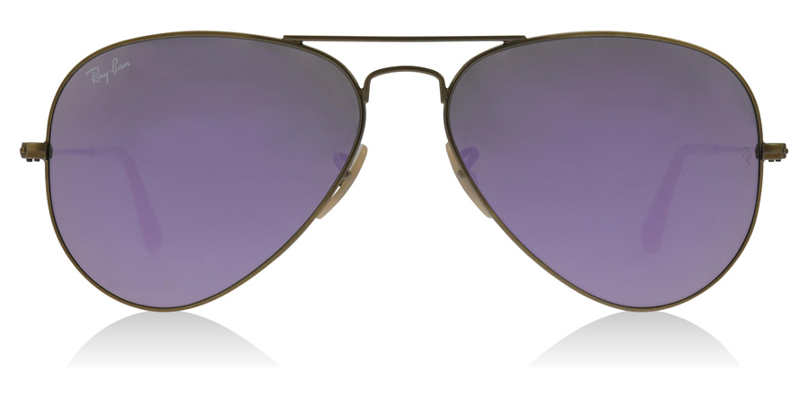 Ray-Ban RB3025 Bronze brossé semi-brillant 167/4K 55mm