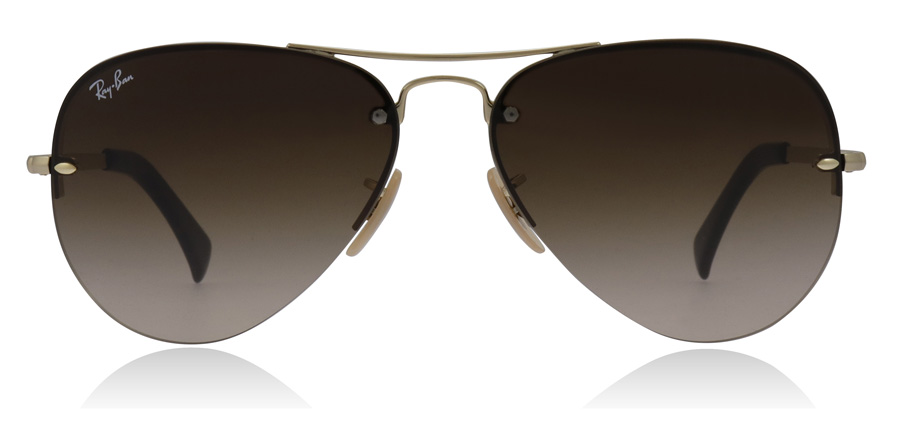 Ray-Ban RB3449 Doré 001/13 59mm