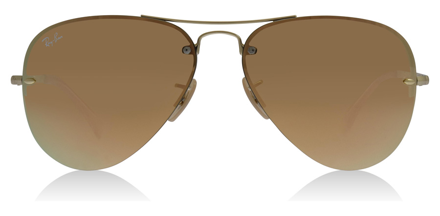 Ray-Ban RB3449 Doré 001/2Y 59mm