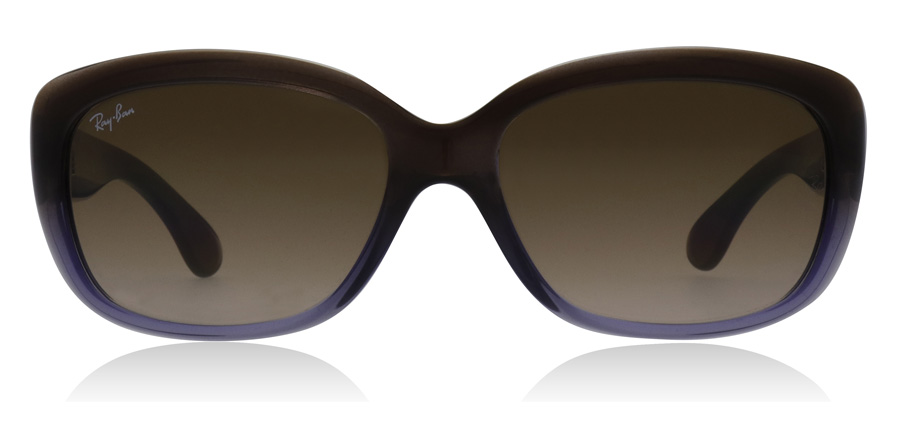 aff5a64a00697 Ray-Ban Jackie Ohh Lunettes-De-Soleil   Jackie Ohh Marron RB4101 ...