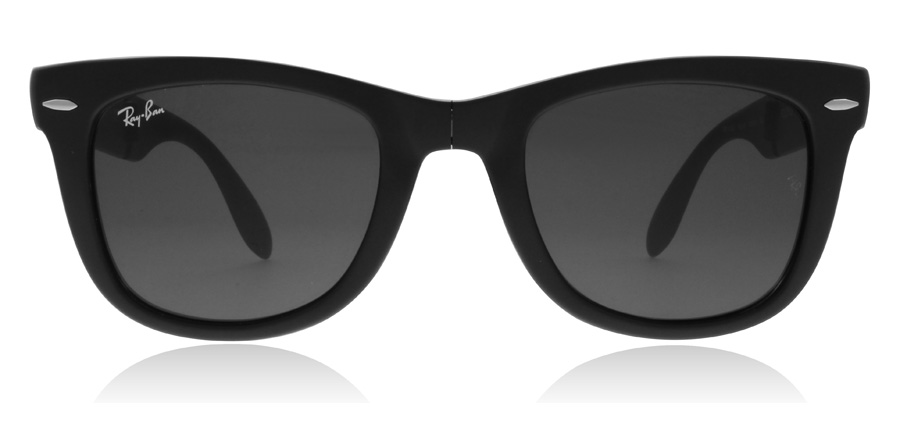 Ray-Ban RB4105 Folding Noir Mat 601s 54mm