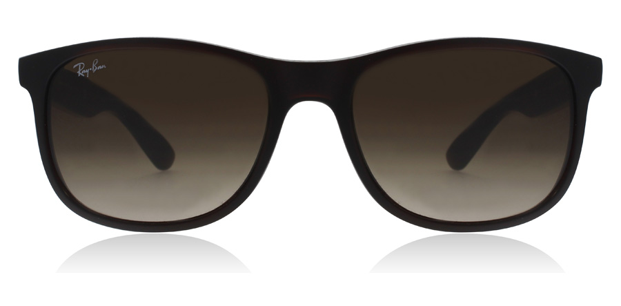 Ray-Ban Andy 4202 RB4202 Marron mat 607313 55mm
