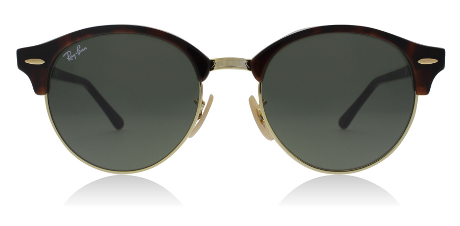 Ray-Ban RB4246 Clubround Havane rouge 990 51mm