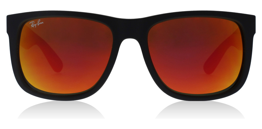 Ray-Ban Justin RB4165 Noir Mat 622/6Q 51mm