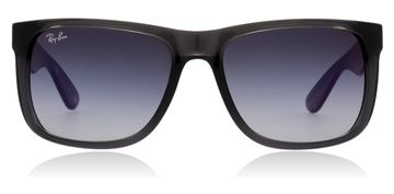 Ray-Ban Justin Gris transparent