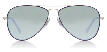 Ray-Ban Junior RJ9506S Age 4-8 Years Argenté / Violet