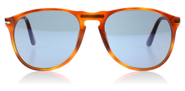 Persol PO9649S Ecaille de tortue - Orange