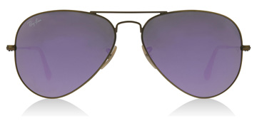 Ray-Ban RB3025 Bronze brossé semi-brillant