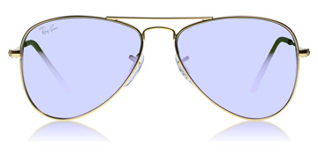 Ray-Ban Junior RJ9506S Age 4-8 Years Doré mat