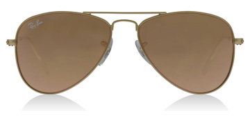 Ray-Ban Junior RJ9506S Age 4-8 Years Doré