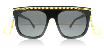 Stella McCartney SC 0021S 001 , Noir , Butterfly